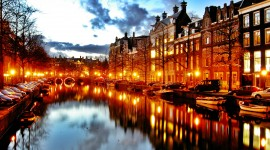 Amsterdam Wallpaper Background