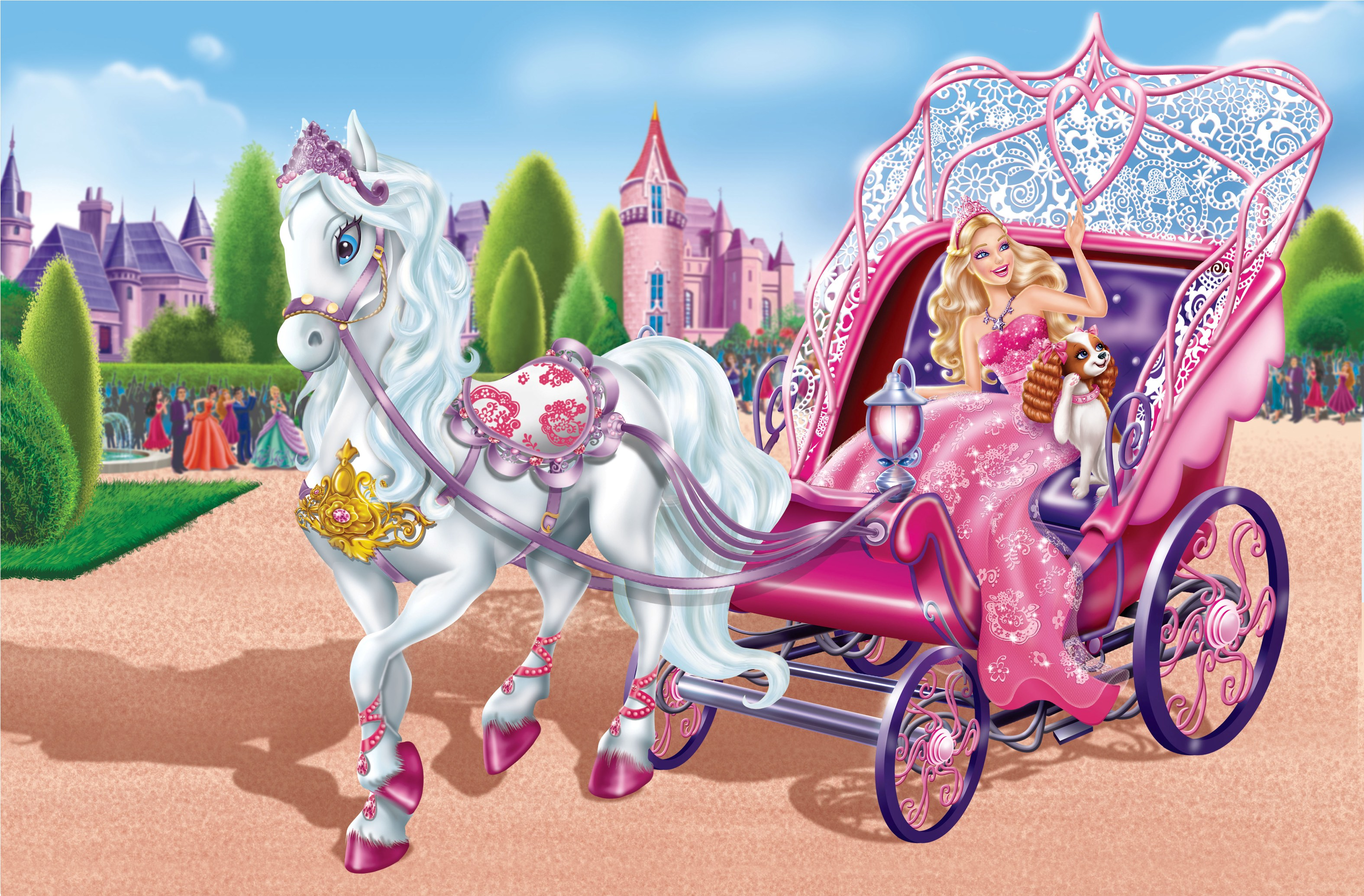 Barbie The Princess The Popstar Wallpapers High Quality Download