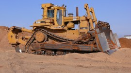 Bulldozer High Quality Wallpaper