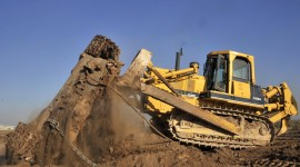 Bulldozer Wallpaper For PC