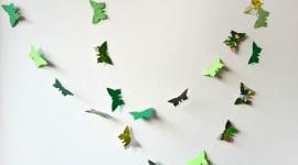 Butterfly Garland Best Wallpaper
