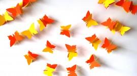 Butterfly Garland Desktop Wallpaper