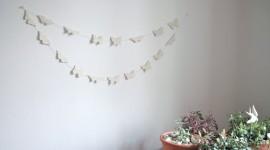 Butterfly Garland Wallpaper 1080p