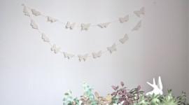 Butterfly Garland Wallpaper Free