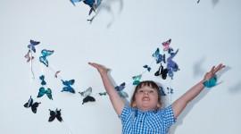 Butterfly Garland Wallpaper Gallery