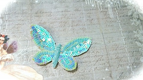 Butterfly Rhinestone Applique wallpapers high quality