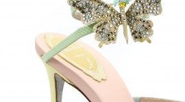 Butterfly Rhinestone Sandals For Android#1