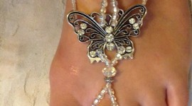 Butterfly Rhinestone Sandals For IPhone#1