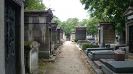 Cemetery In Paris Wallpaper Download Free