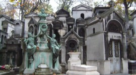 Cemetery In Paris Wallpaper Free