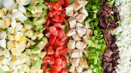 Cobb Salad Desktop Wallpaper HD