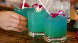 Cocktail Blue Hawaii Best Wallpaper
