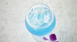 Cocktail Blue Hawaii Wallpaper Download