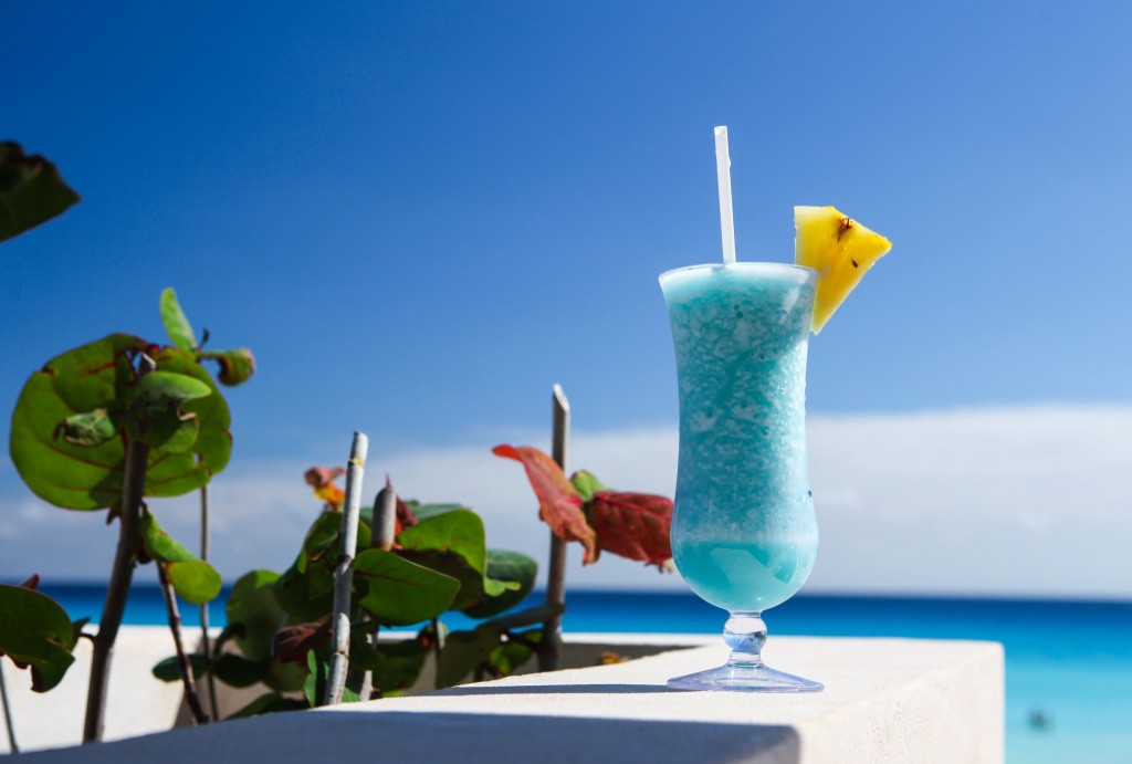 Cocktail Blue Hawaii wallpapers HD