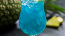 Cocktail Blue Hawaii Wallpaper For IPhone 6 Download