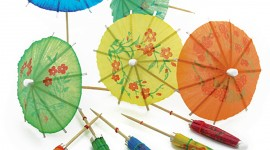 Cocktail Umbrellas Wallpaper Gallery