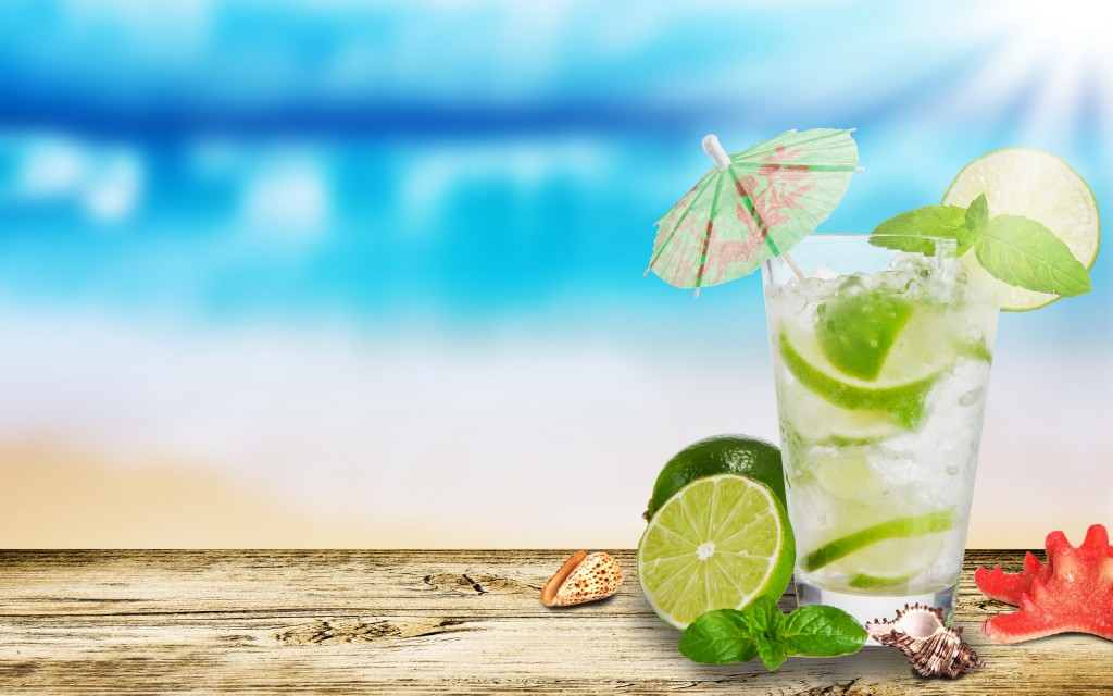 Cocktail With Lemon wallpapers HD