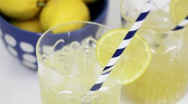 Cocktail With Lemon Wallpaper For IPhone#2