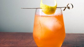 Cocktail With Lemon Wallpaper For PC