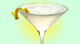 Cocktail With Lemon Wallpaper Free