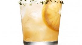 Cocktail With Lemon Wallpaper HQ