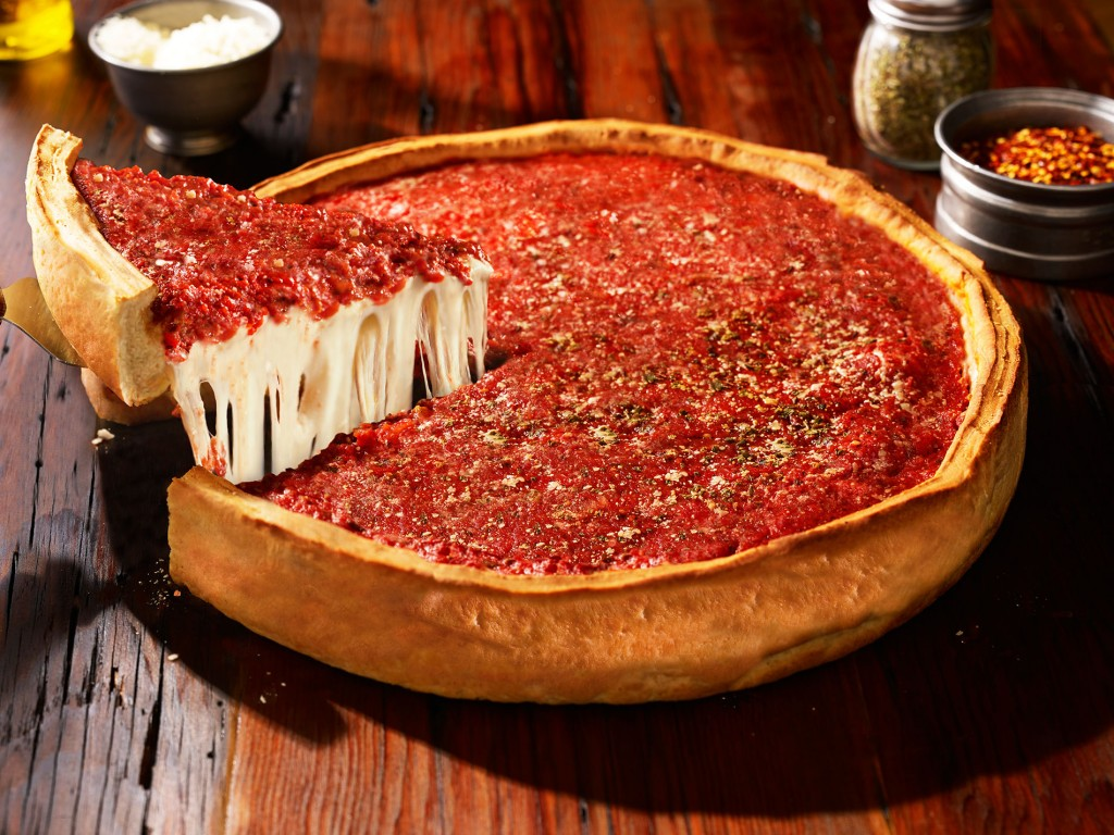 Deep Pizza Chicago wallpapers HD