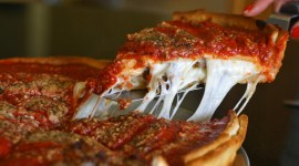 Deep Pizza Chicago Wallpaper Full HD