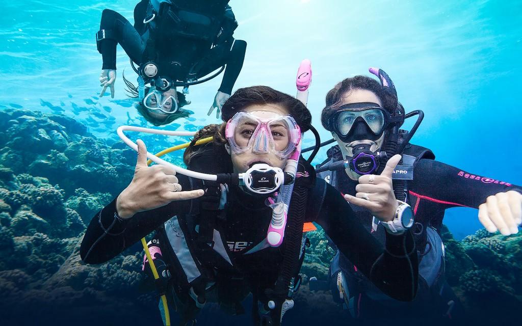 Diving wallpapers HD