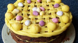 Easter Cakes Desktop Wallpaper