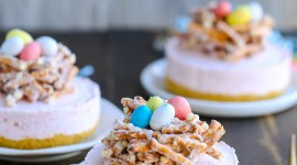 Easter Cakes Wallpaper For IPhone