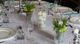 Easter Table Desktop Wallpaper