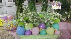 Easter Table Desktop Wallpaper#1