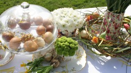 Easter Table Photo