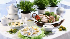 Easter Table Photo Download