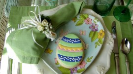 Easter Table Photo Free