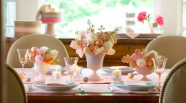 Easter Table Photo Free#1