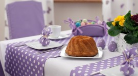 Easter Table Wallpaper Download