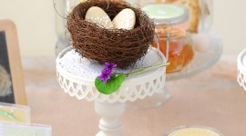 Easter Table Wallpaper For IPhone