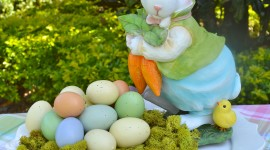 Easter Table Wallpaper For IPhone#3