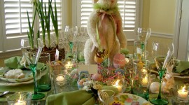 Easter Table Wallpaper Free
