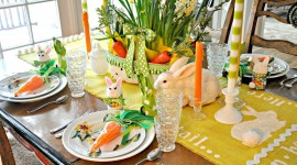 Easter Table Wallpaper HQ