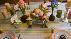 Easter Table Wallpaper HQ#1