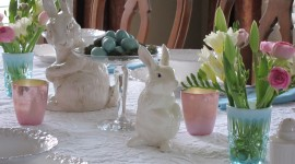 Easter Table Wallpaper HQ#2