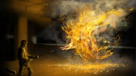 Flamethrower Wallpaper Free