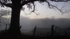 Fog In Smoky Mountains Desktop Wallpaper
