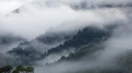 Fog In Smoky Mountains Wallpaper Full HD