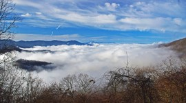 Fog In Smoky Mountains Wallpaper Gallery