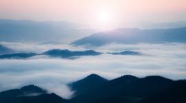 Fog In Smoky Mountains Wallpaper#1