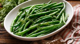 Green Beans Desktop Wallpaper Free