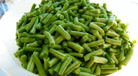 Green Beans Desktop Wallpaper HD